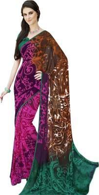 Wishcart Printed Fashion Georgette Sari