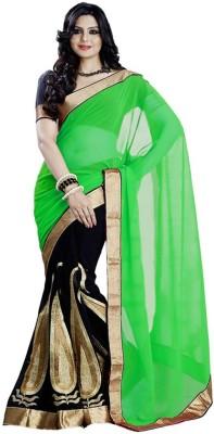 Mastani Embriodered Fashion Handloom Georgette Sari