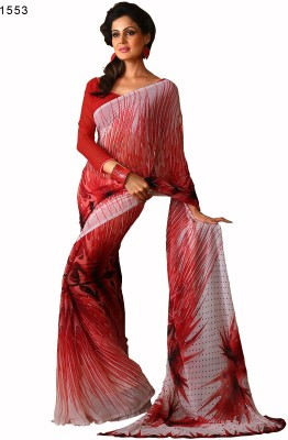 Hi-Choice Printed Fashion Georgette Sari
