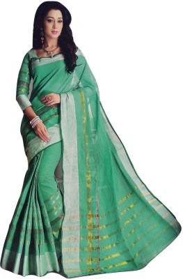 Varsha Solid Fashion Cotton Sari