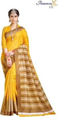 Peecaso Embellished Bhagalpuri Art Silk Sari