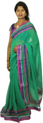 Ram Fashion Printed Daily Wear Georgette Sari
