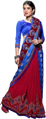 Anoha Embriodered Fashion Jacquard Sari