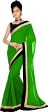 Unique fashion Plain Fashion Chiffon Sar...