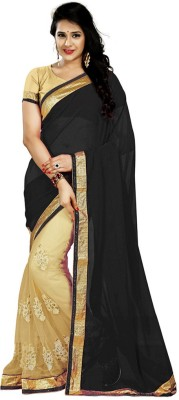 Jhilmil Fashion Embriodered Bollywood Handloom Net, Georgette Sari