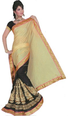 MANSHI FASHION Embriodered Fashion Georgette Sari
