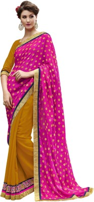 Manvaa Embriodered Fashion Jacquard Sari