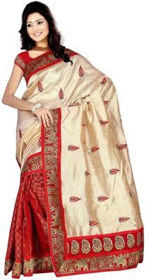 Jbkala Printed Bollywood Raw Silk Sari