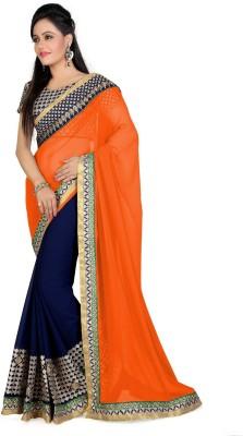 Shree Plus Embriodered Fashion Georgette Sari