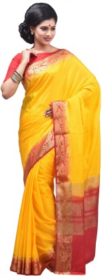 Creation Self Design Fashion Silk Sari