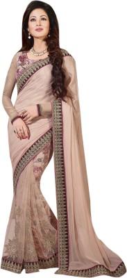 Lajo Printed Bollywood Net, Shimmer Fabric Sari