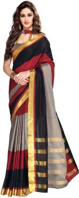 Mukesh Striped Mysore Cotton Sari