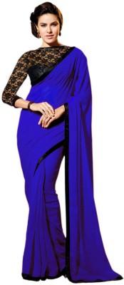 Fashionista Embriodered Fashion Georgette Sari