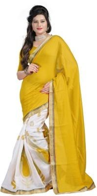 Vishal99 Embriodered Bollywood Cotton Sari