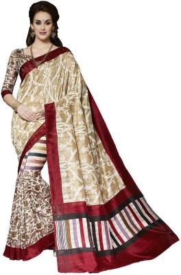 The Designer House Self Design, Printed Fashion Cotton, Silk Sari