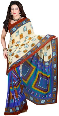Adinath Fashion Printed Daily Wear Georgette Sari