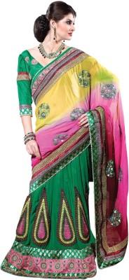Sayonafashion Embriodered Fashion Viscose Sari