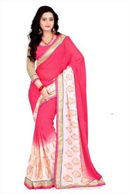 Goodwealth Graphic Print Banarasi Banarasi Silk Sari