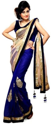 ASN Embriodered Bollywood Net Sari