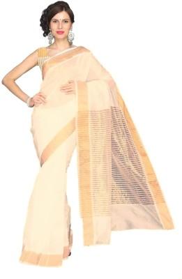 Kunal Striped Fashion Handloom Cotton Sari