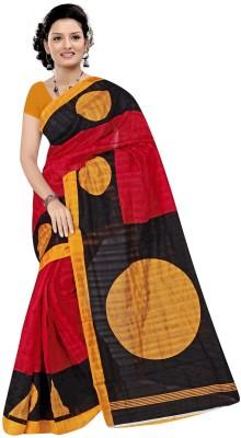 Baba Sarees Printed Bhagalpuri Handloom Art Silk Sari