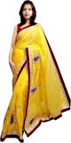 Tyra Sarees Embroidered Fashion Brasso S...