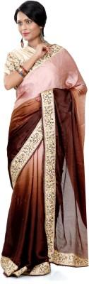 B3Fashion Embellished Bollywood Pure Chiffon Sari