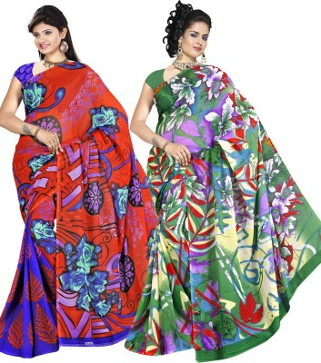 Supriya Fashion Printed Fashion Georgette Sari