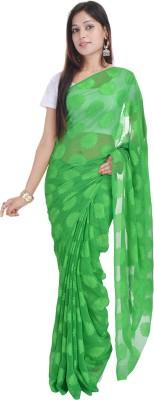 Soundarya Self Design Daily Wear Georgette Sari