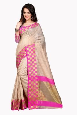 Wedding Villa Self Design Banarasi Tussar Silk Sari
