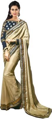 Anerra Embriodered Bollywood Handloom Satin Sari
