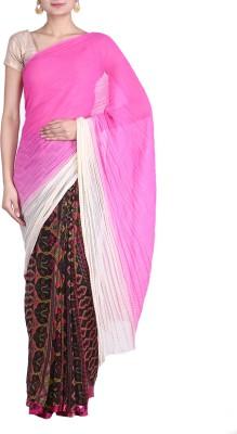 REME Floral Print Fashion Georgette Sari