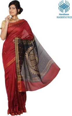 Jharcraft Self Design Fashion Handloom Silk Sari
