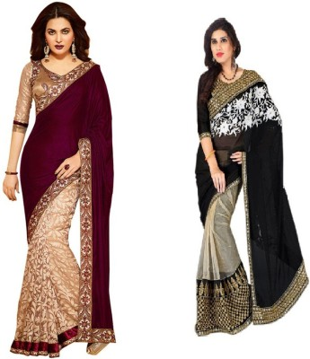 Beauty Choice Embriodered Fashion Georgette Sari