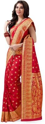 Rajshrifashions Embriodered Lugade Tussar Silk Sari