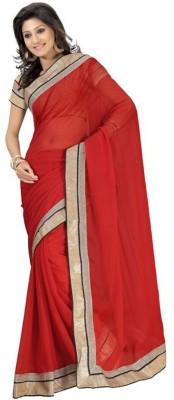 Festive Self Design Bollywood Handloom Chiffon Sari