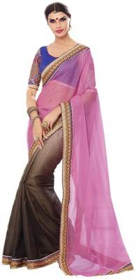 Trendisetz Self Design Fashion Art Silk Sari