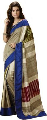 B3Fashion Printed Bhagalpuri Silk Sari