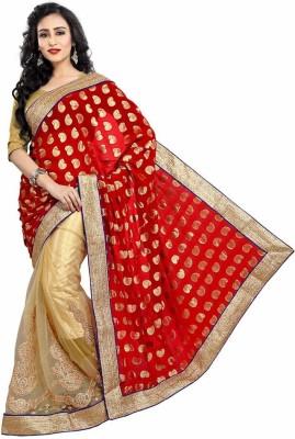 Royal Desi Apparel Embriodered Fashion Viscose Sari