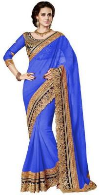 Livaaz Embriodered Bollywood Georgette Sari