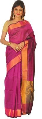 Sayani Boutique Plain Fashion Pure Silk Sari