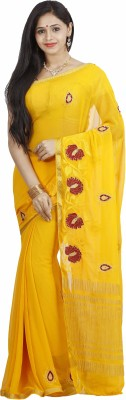 nalliee Embriodered Bapta Chiffon Sari