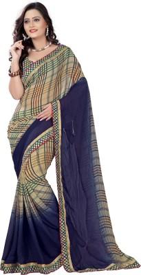 Bapa Sitaram Prints Printed Fashion Georgette Sari