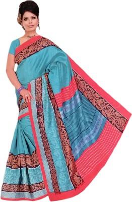 Aashi Printed Fashion Cotton, Silk Sari