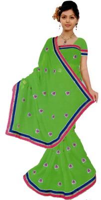 Bosan Fashion Self Design Daily Wear Chiffon Sari