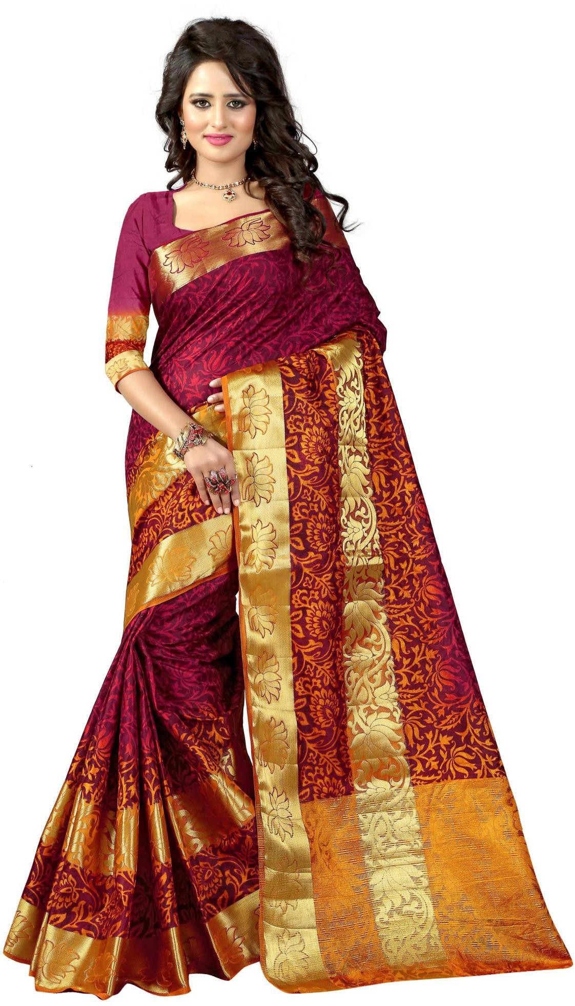 Flipkart - Kajal Sarees, Thegudlook... Festive Collection