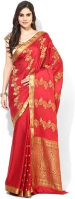 Aryahi Printed Mysore Crepe Sari