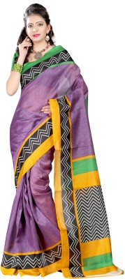 kanishk textile Self Design Bhagalpuri Art Silk Sari
