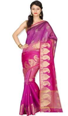 Chandrakala Embellished Banarasi Art Silk Sari