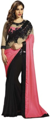 SHS Embriodered Bollywood Georgette Sari